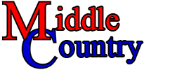 Middle Country Text Graphic