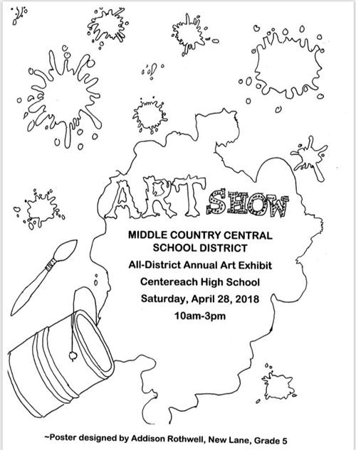 District-Wide Art Show Saturday!