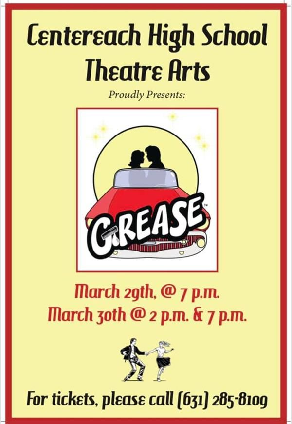 Centereach Musical Presents:  Grease
