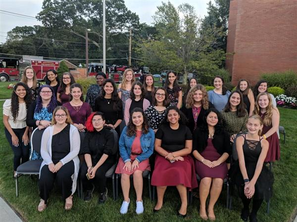 Centereach HS Women's Choir Performed at the Centereach Fire Department's 9-11 Memorial Ceremony