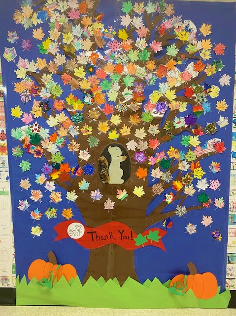 Bicycle Path PreK/Kindergarten Center - Our Giving Tree has Blossomed!