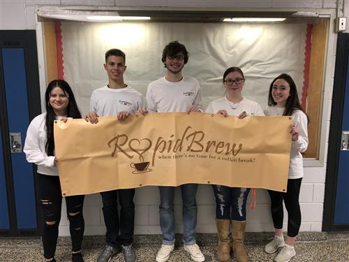 Virtual Enterprise Rapid Brew places top 10 in Business Plan Competition