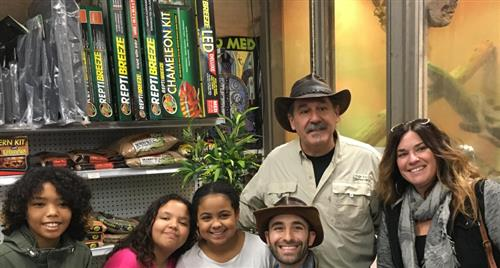 Jericho Fifth Graders Meet Coyote Peterson