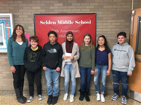 Congratulations Selden MS 8th Grade Artists