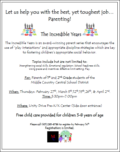 The Incredible Years Parent Series 1st & 2nd Grade