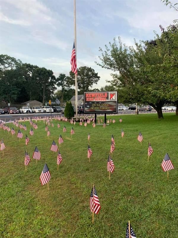 Newfield Remembers 9-11, We Will Never Forget