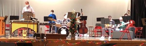Newfield Jazz Ensemble Spreads Holiday Cheer!