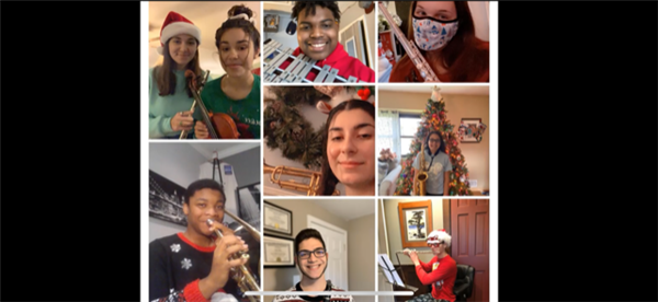 A Virtual Happy Holidays from Newfield Music!