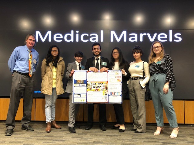 NHS Team @ Medical Marvels Competition Designs Plan to Reduce Vaping
