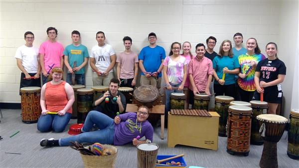 Newfield Drum Club Performs October 20, 2018!