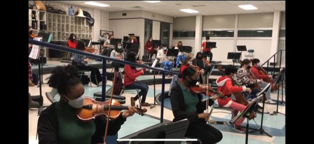 Centereach Chamber Orchestra Spreads Virtual Holiday Cheer!