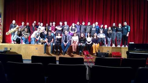 Newfield Thespian Honor Society Improv Night Success!